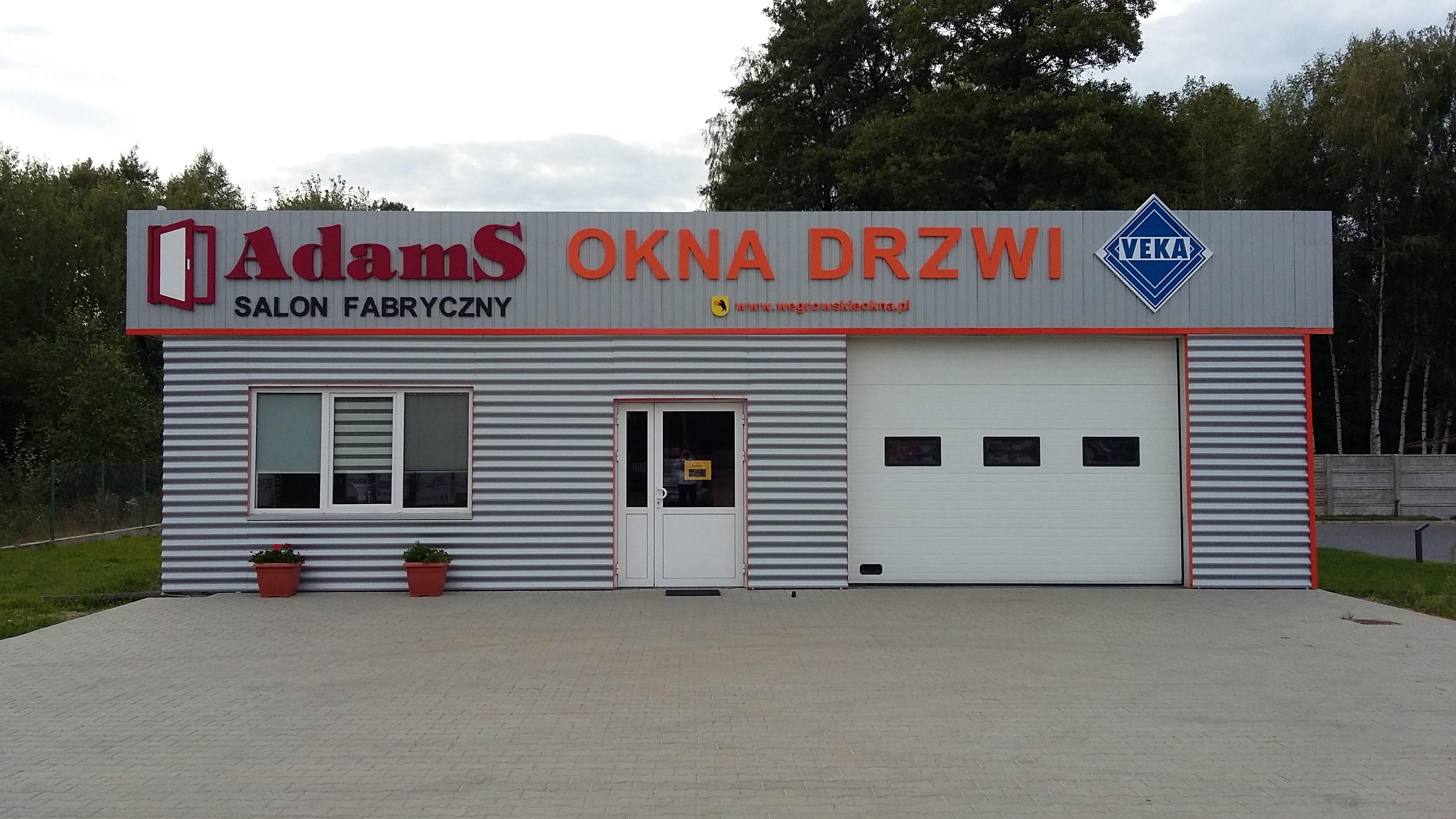Węgrowskie okna - sprzedaż i montaż okien, drzwi i bram garażowych